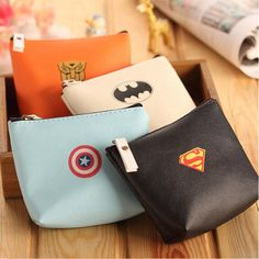 New Lovely Girls Coin Bag PU Leather Money Purse Wallets Small Mini Portamonete Little Coin Key Card Pouch Money Purses Bag