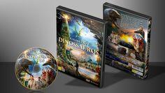 A Ilha Dos Dinossauros - Capa | VITRINE - Galeria De Capas - Designer Covers Custom | Capas & Labels Customizados