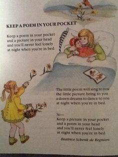 My favorite children's poem!