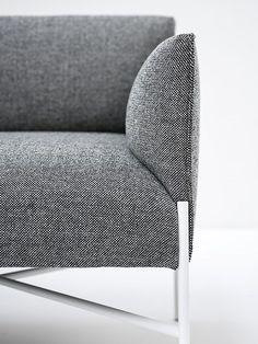 Fabric sofa CHILL-OUT by Tacchini Italia Forniture