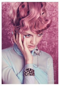 A Time For Joy - Vogue Japan by Elena Rendina, August 2012