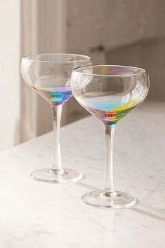 These Incredible Wine Glasses Turn Your Drink Into Liquid Rainbows  - Delish.com