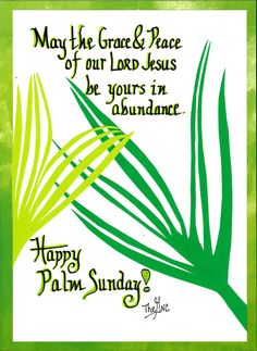 Happy Palm Sunday From The Good News Cartoon To You Facebook