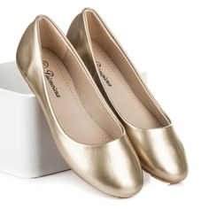 Zlaté balerínky PRIMAVERA 6-03GO