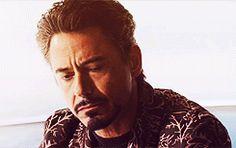 Tony Stark Shakes His Head in Iron Man 2