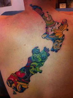 A cool tattoo!