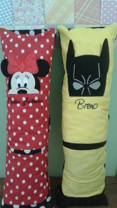Almofada para cinto de segurança Linha personagens Batman Minie