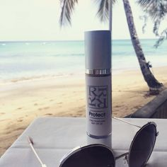 Dr Rita Rakus SPF travelling worldwide! @dr_galyna relaxing in #barbados with @melissaodabash favourite moisturiser  #bblogger #worldwide #skin #skincare #SKINTIPS #sun #protect #facecare #musthave #cosmetics #prevention