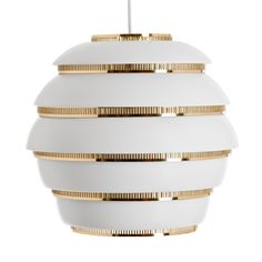 Aalto A331 Beehive ceiling lamp by Alvar Aalto.