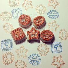 stamp rubberstamp 消しゴムハンコ