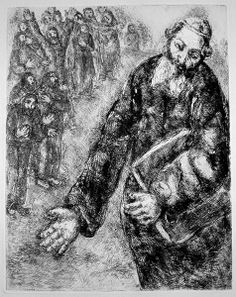 Chagall Bible Etchings, p. 2 - Joshua