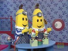 Bananas in pajamas !