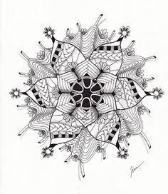 zendoodle, zentangle, art, doodle, drawing, mandala