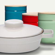 Enamel Pots and Jars by RIESS | MONOQI