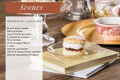 Preparate Recipe For English Scones, French Cottage, Biscotti, Tiramisu, Tea Party, French Toast, Breakfast, Ethnic Recipes, Desserts