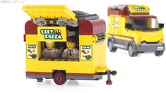 Lego City Pizza Custom