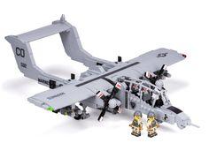 OV-10G+ Brocno - Turboprop Light Attack Aircraft : lego