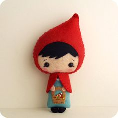 Little Red Riding Hood pdf Pattern Instant by Gingermelon on Etsy