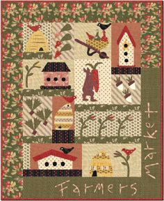 this quilt is so charming and funny.  thank you, j