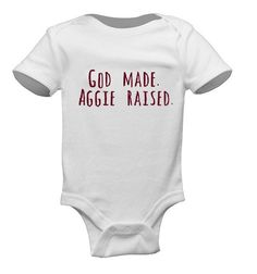 ♥ This is the perfect onesie for your Little Texas A&M Aggie!    Inspiring future generations to carry on the traditions of the Maroon and White.
