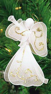Keep Jesus in Christmas - Christian Ornaments - Christian Gifts Christmas Makes, Noel Christmas, Christmas Projects, Holiday Crafts, Christian Christmas, Christian Gifts, Christmas Angel Ornaments, Diy Angels, Nylon Flowers