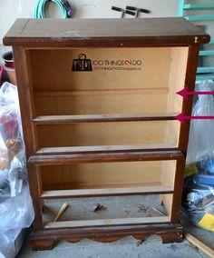 dresser with drawers life my chest of repurposed bookshelf myrepurposedlife