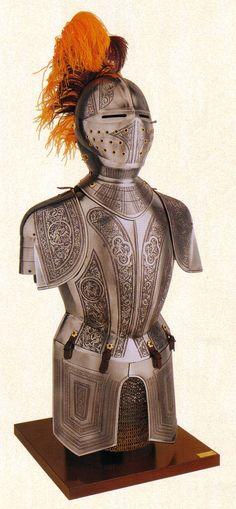 Medieval armor. Historic armour