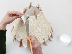Abat-jour conique à bord roulé, Tuto pour faire - Loisirs créatifs                                                                                                                                                                                 Plus