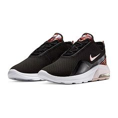 Nike Air Max Motion 2 Womens Running Shoes - JCPenney Nike Running Shoes Women, Running Women, Nike Air Max, Footwear, Sneakers Nike, Aurora, Mesh, Technology, Content