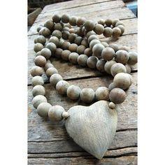 Wood Heart Prayer Beads  Sugarboo Accessories - 2