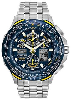 Citizen Men's Eco-Drive Blue Angels Skyhawk A-T Watch JY0040-59L