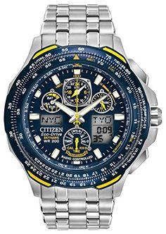 Citizen Men's Eco-Drive Blue Angels Skyhawk A-T Watch JY0040-59L