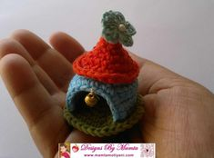 Crochet Gnome Home Garden Fairy House Pattern  Make This Unique Crochet Gnome Home Pattern! Welcome your little friend in your home with this cute, wobbly Gnome home. It can be made just as per the liking of your little friend. Price: $5