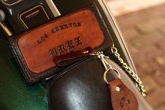 MC Club Custom Biker Wallet | Chain Wallet | Long Wallet | Roper Wallet | Cell Phone Wallet Case by GodSkinCustomLeather,