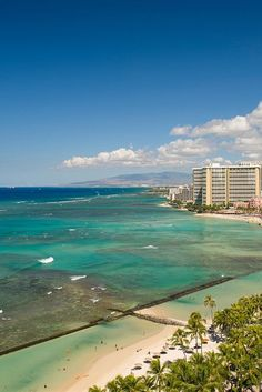 Take in Honolulu from one of the best beach views #Jetsetter Aston Waikiki Beach Hotel (Honolulu, Hawaii)