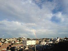2013.10.02  今日も、虹が、出た ( ´ ▽ ` )