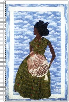 Mama Shekere Spiral Notebook