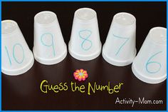 """Game, """"Guess the Number"""" (from The Activity Mom)"""