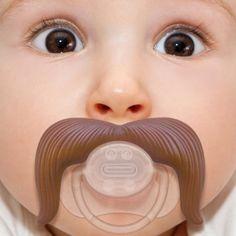 Mustache pacifier