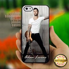 Adam Levine - Maroon five Band - Print on Hard Cover for iPhone 4,4S | ThePlanetArt - Accessories on ArtFire