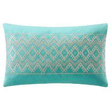 Mykonos Cotton Linen Lumbar Pillow