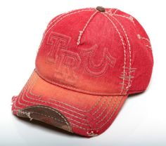 True Religion   Men's Raised Logo Cap