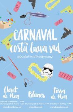 Carnaval de Lloret de Mar   Diferents espais (Lloret de Mar) Des del 24 de febrer fins a l'1 de març