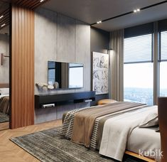 ideas with ladders ideas brown leather sofa ideas small apartment ideas for birthday party ideas interior name ideas to home decor ideas ideas 2018 Tv In Bedroom, Bedroom Bed Design, Modern Bedroom Design, Bedroom Decor, Decor Room, Modern Decor, Living Room Tv, Luxurious Bedrooms, Interiores Design
