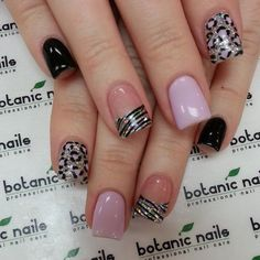 Beautiful Photo Nail Art: 21 botanic nails design 2015