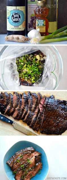 The Ultimate Asian Flank Steak Marinade #recipe