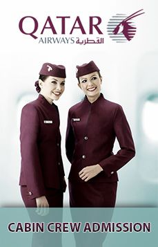 Do you love travelling and meeting new people? Do you have excellent interpersonal skills? Are you a team player who would love to be part of an award-winning team?    If your answer is YES, we want to hear from you. We are looking for dedicated and energetic individuals to join our multinational, award-winning cabin crew of Qatar Airways.