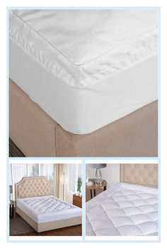 St. James Home 450-Thread Count Ultra Twin Mattress Pad With Gusset In White - Add a level of cloud-like comfort and support to your bed with the St. James Home 450-Thread Count Mattress Pad. Featuring a diamond-stitched 100% cotton cover, it also has an extra wide pillow-top gusset for a fuller feel and more stability. #BakingSodaBeautyUses Full Mattress, Queen Mattress, Mattress Pad, Baking Soda Beauty Uses, Baking Soda Uses, Baking Soda Drain Cleaner, Baking Powder Uses, Arm And Hammer Baking Soda, How To Clean Carpet