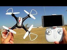 Syma X15W Easy FPV Camera Drone Flight Test Review