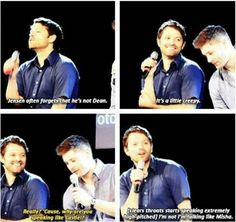 Uhm... Yeah, because Misha...